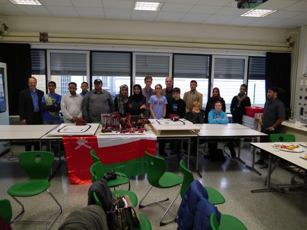 Besuch der Delegation aus dem Oman